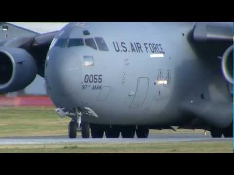 Xxx Mp4 USAF C 17 Takeoff At Abbotsford Int 39 L Airport YXX 3gp Sex