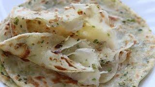 Chinese green onion pancake 蔥油餅/green onion paratha - soft layered-- Cooking A Dream