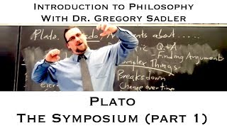 Plato's dialogue, the Symposium (part 1) - Introduction to Philosophy