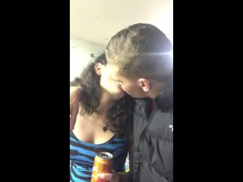 My friend making out with a hooker