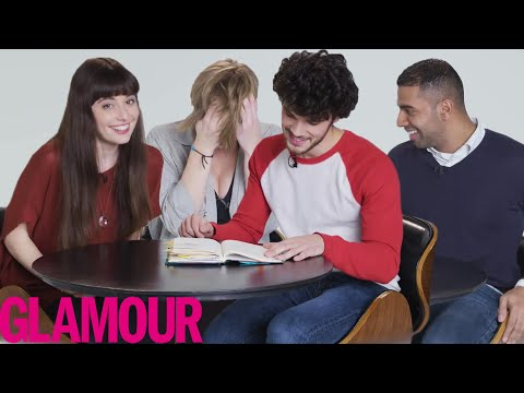 Guys Read Their Girlfriends' Old Diaries - Best Moments #2 | Glamour
