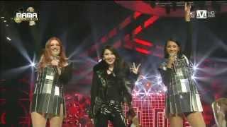 아이코나팝(Icona Pop) & 씨엘(CL) - All Night + I Love it at 2013 MAMA