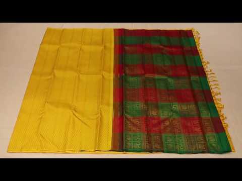 yellow without border pure zari saree  - 3C8A9517 - kanjivaramsilks.com