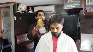 ASMR gentle head massage