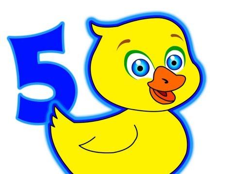 Five Little Ducks Song Kindergarten Toddler Nursery Rhymes Kids Songs 5 Little Ducks