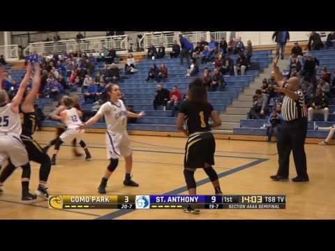 High School Girls Basketball: Como Park vs. St. Anthony Village