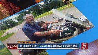 Memorial Service Held For Trucker Killed On I-65