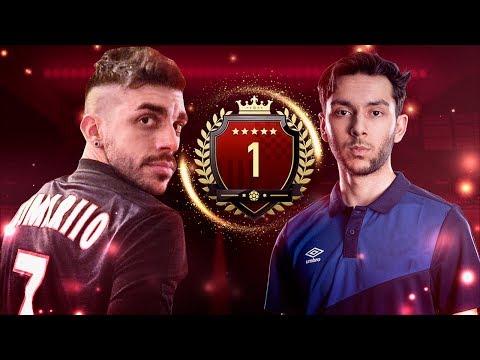 DjMaRiiO vs JUGADOR TOP 1 FUT CHAMPIONS CAMPEÓN DE FIFA