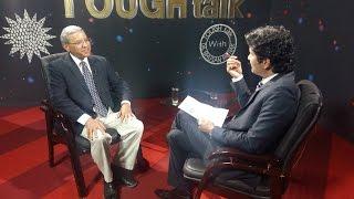 Prof. Surya Subedi in TOUGH talk with Dil Bhusan Pathak