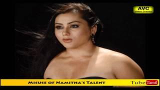 Misuse of Namitha's Talent