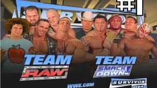Survivor Series 2005 - Equipo Smack Down VS Equipo Raw (en español) #1