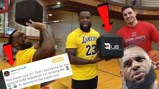 Lebron James Wants This BANNED! Cube Basketball Shooting Challenge!