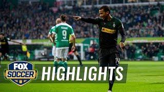 Werder Bremen vs. Mönchengladbach   2018-19 Bundesliga Highlights
