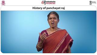 History and genesis of Panchayat Raj Institutions