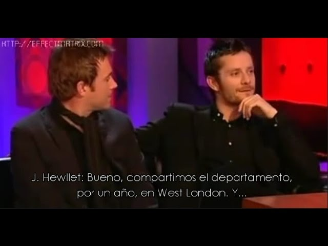 Gorillaz's Interview - Damon Albarn & Jamie Hewlett with Jonathan Ross (Sub. Español)