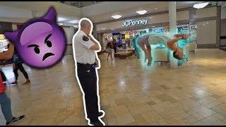 ULTIMATE MALL FLIPPING CHALLENGE! *COPS COME*
