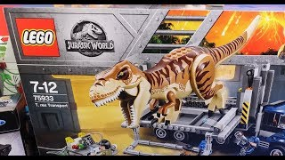 LEGO Jurassic World Shopping and more!