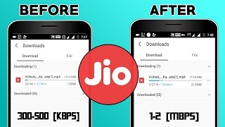 Increase Reliance JIO Downloading Speed 🚀
