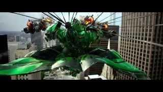 Transformers 4 (2014) Escape de la nave de Lockdown parte 2 (HD latino)