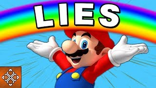 MARIO AND NINTENDO Have Been Lying To YOU [#Gameology]