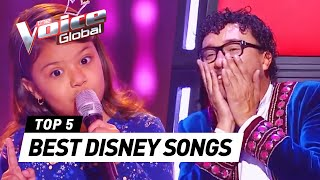 The Voice Kids | BEST DISNEY SONGS in The Blind Auditions [PART 2]