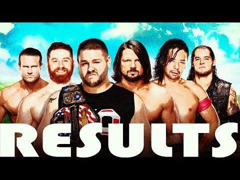 WWE MONEY IN THE BANK 2017 RESULTS  (OFFICIAL RESULTS)