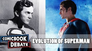 Evolution of Superman in Movies and TV in 12 Minutes (2017)