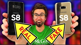 How to spot a FAKE Samsung Galaxy S8