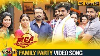 MCA Full Video Songs 4K   Family Party Video Song   Nani   Sai Pallavi   DSP   Mango Videos