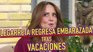 ¿Andrea Legarreta REGRESA EMBARAZADA de sus VACACIONES tras Enfermedad Púrpura?