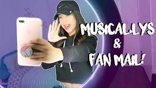 FILMING MUSICAL.LYS + Opening Fan Mail!