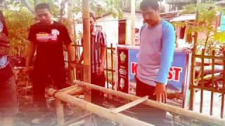 Pembuatan Rak Tanaman #1 ~ KKN UST 2017 P66