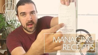 MANAGING RECEIPTS WITH WAVE APP | #stayclever