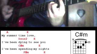Summer time love by Juan Karlos Labajo Guitar Chords