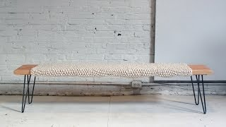 The Wood and Wool Bench