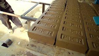 Auto Bricks Making Machine with LOGO as in Bangladesh, India, Pakistan