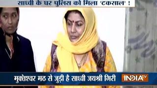 Sadhvi Jayshree Giri Arrested for Cheating; Rs 2.50 crore Cash, 2.5 kg Gold Seized