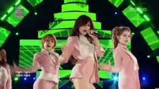 4minute - Heart to Heart + Mirror Mirror [MBC-KMW in Bangkok 2012]