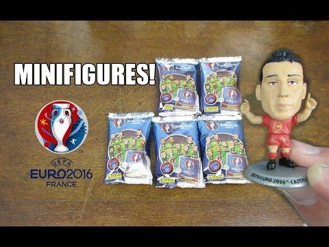 Panini Superstars of Football Minifigures - 5 PACK OPENING! Euro 2016