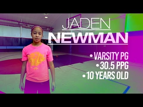 Xxx Mp4 10 Year Old Jaden Newman Wants To Be 1st Woman In NBA 3gp Sex