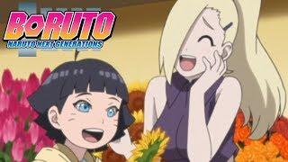 Himawari Meets Ino   Boruto: Naruto Next Generations