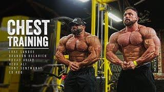 Chest Training | Luke, Brandon, Fouad, Ed, Heba & Tony | Iron Rebel