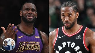 LeBron is distracting Kawhi, which will backfire for the Lakers - Jalen Rose | Jalen & Jacoby