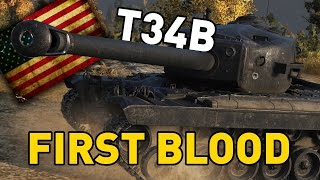 World of Tanks    First Blood - T34B