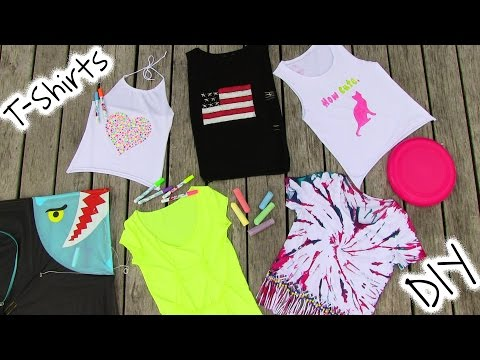 DIY Clothes 5 DIY T Shirt Projects Cool
