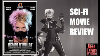 THE DEMOLITIONIST ( 1995 Nicole Eggert ) Superhero movie review