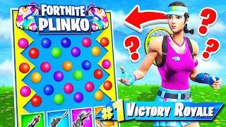 PLINKO in FORTNITE *NEW* Game Mode in Fortnite Battle Royale!
