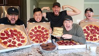 Eating The Rock's Cheat Day Challenge! *15000 Calories*