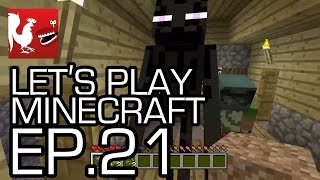 Let's Play Minecraft - Episode 21 - Stronghold Hunting in 1.8!