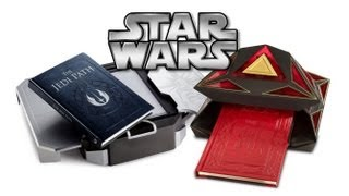Star Wars 'The Jedi Path' Vault & 'Book of Sith' Holocron